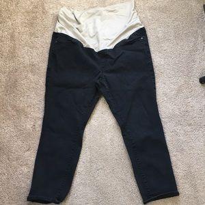 Loft black maternity jeans